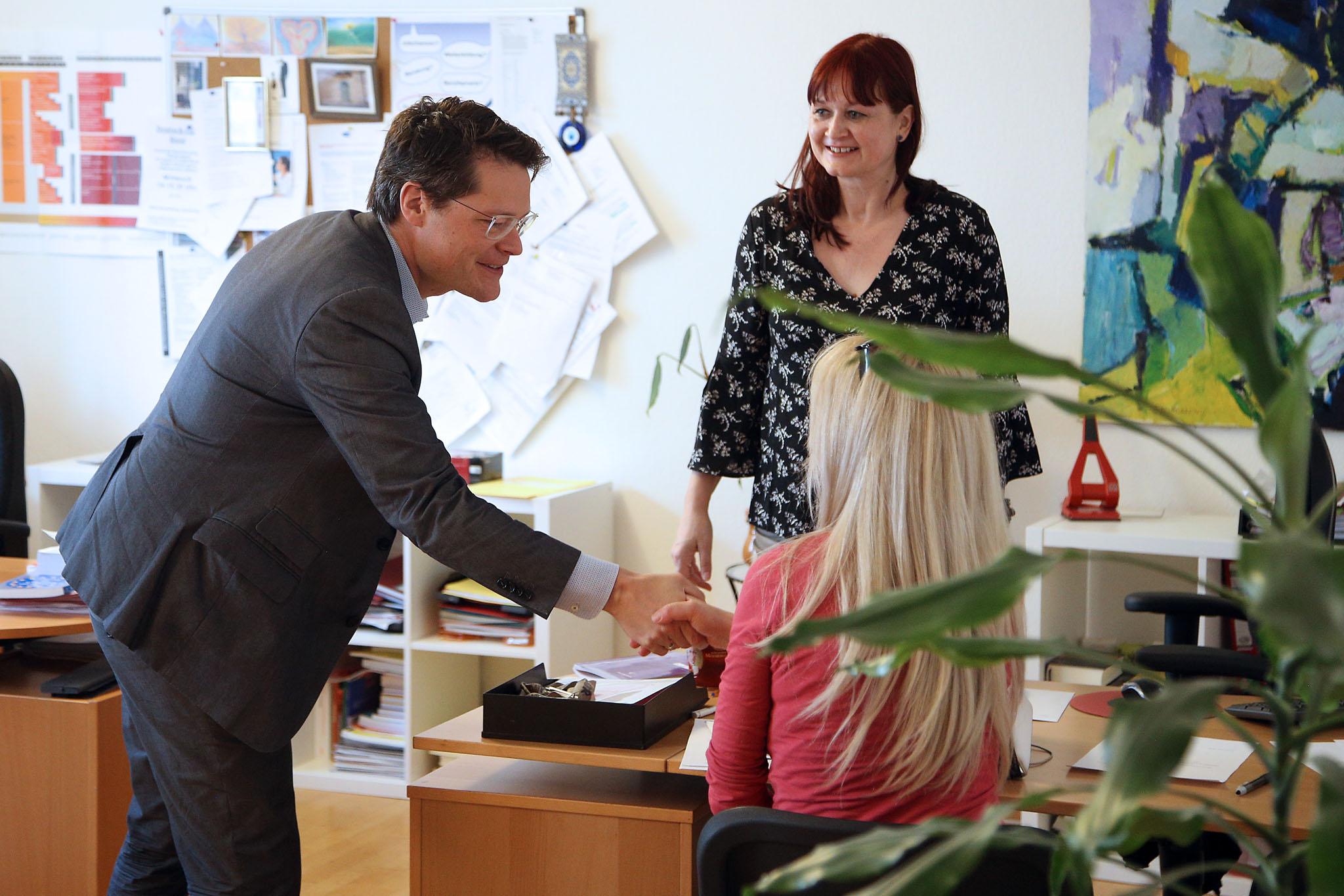 Besuch Integrationsstadtrat